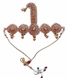 Buy Heer&Sahib Royal Rajputana Ethnic & rare Wedding Turban Kalgi Embedded with reverse AD Stones  Other online