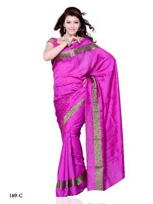 Shimmering Festival/Party Wear Designer Saree by DIVA FASHION-Surat