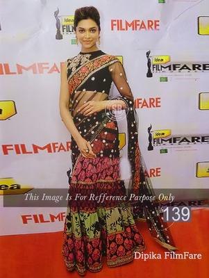 Deepika printed saree