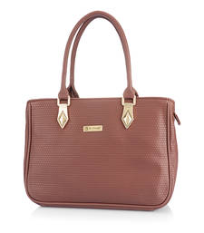 Buy Be Trendy PU (polyurethane) Brown Women Handbag handbag online