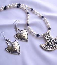Buy Pendent Necklace Jumka necklace-set online