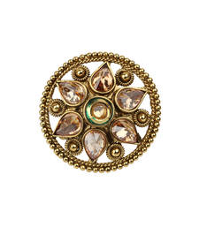 Buy Traditional gold ring Ring online
