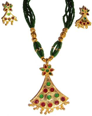 Indian Assamese Jewellery Gagori