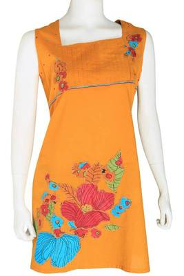 Just Women- Patch worked contemporary style Kurti