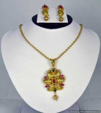 Diwali Collection Necklace Set 12