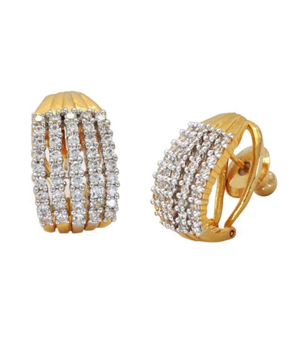 Buy designer American diamond earrings Online
