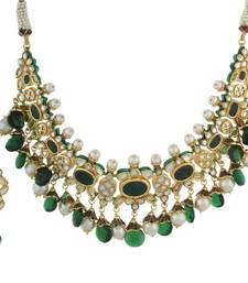 Buy Multicolor kundan necklace-sets necklace-set online