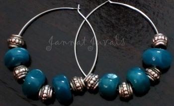 Irregular Blue Rings