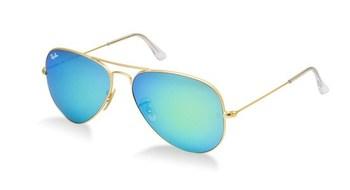 golden aua blue Sunglasses