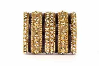 Black zircon   enamel bangles and bracelets