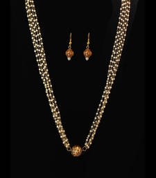 Buy Gheru Pearl Necklace Set necklace-set online