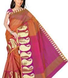 Buy Pavecha's Big Border Mango Saree- MK569 indian-dress online