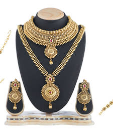 Buy Traditional Wedding Bridal Set For Women Imitation Jewellery Online