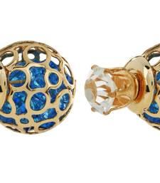 Buy Gold Charm Stud Earring stud online