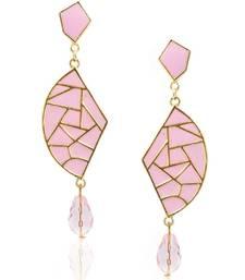 Buy Baby Pink Mosaic Diva Danglers danglers-drop online