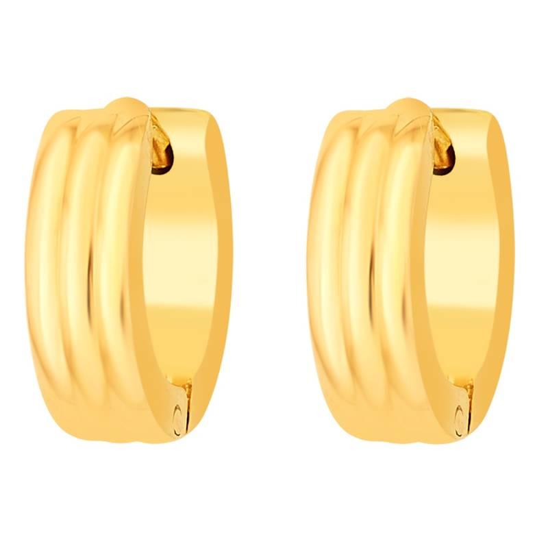 Buy Earrings for Men Boys Studs Gold Striped Piercing Bali Online
