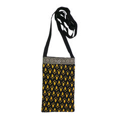 Buy Kalamkari Mobile Covers 2 (Black) wallet online