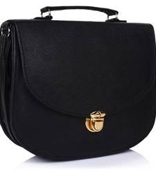Buy Fashionable Women's  Black  Slingbag sling-bag online