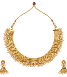 Buy White polki necklace-sets necklace-set online
