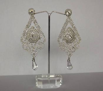 Dazzling Diamond Studded Danglers