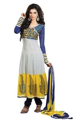 Triveni Astonoshing Faux Georgette Indian Designer Salwar Kameez TSXGTSK2106a