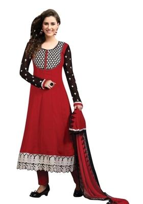 Triveni Astonoshing Faux Georgette Indian Designer Salwar Kameez TSXGTSK2110a