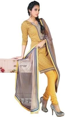Triveni Elegant Floral Printed Cotton Salwar Kameez TSXGGSK2403