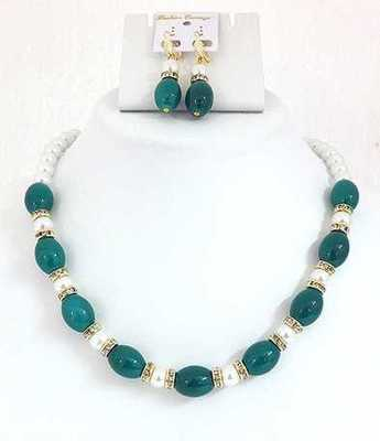 Moti Radium Necklace Set