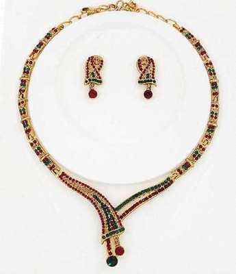 Simple Design Necklace Set