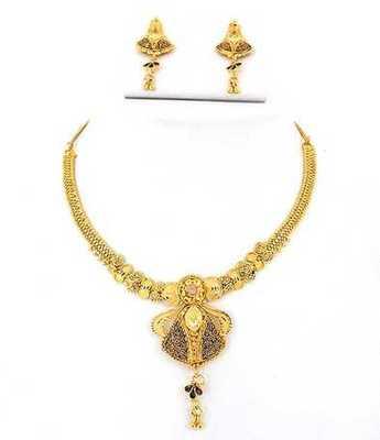 Best Golden Necklace Set