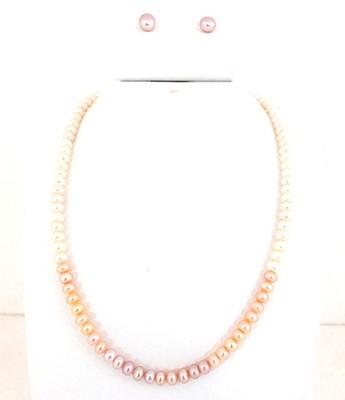 Rainbow Button Pearl Set