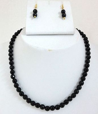 Black onyx mala