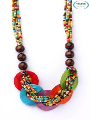 Beads fashion necklace jewelry