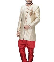 Buy gold brocade stone sherwani jodhpuri-sherwani online