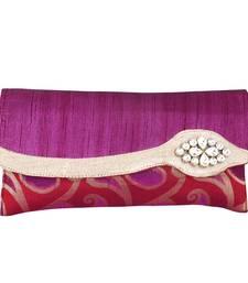 Buy Opulent Purple Clutch Handbag clutch online