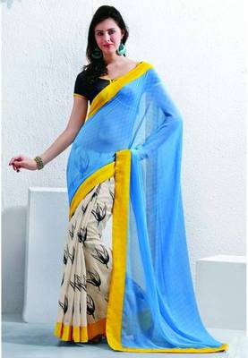Saree With Unstitched Blouse (15041)