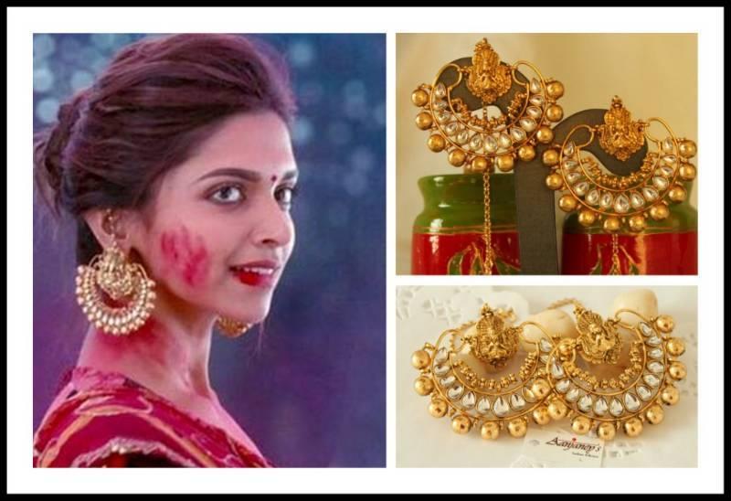 Buy Ram Leela Earrings Jhumka Tops Kundan Ethnic