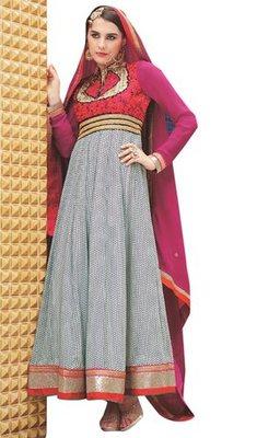 Triveni Stylish Anklelength Georgette Anarkali Salwar Kameez TSFLSK3004a