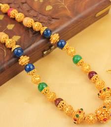 Buy LOVELY HANDMADE DESIGNER BALLS NECKLACE SET-DJ04739 south-indian-jewellery online
