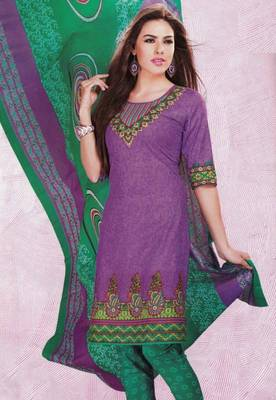 Dress material cotton designer prints unstitched salwar kameez suit d.no 4428