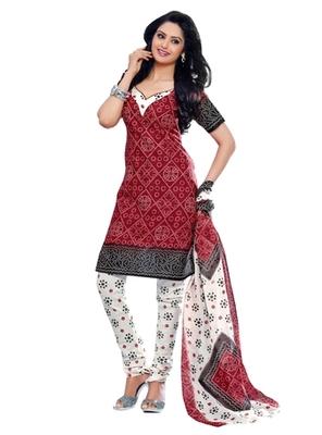 Triveni Charming Casual Printed Cotton Salwar Kameez TSSTSK2012