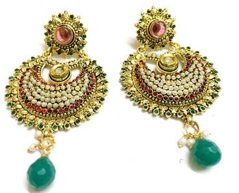 Craftstages Designer Traditional Earrings