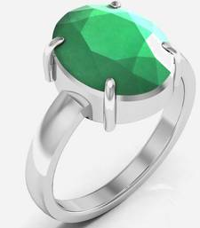 Buy Haqiq 7.5 cts or 8.25 ratti Green Onyx Ring engagement-ring online