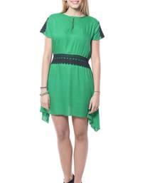 Buy Green georgette tops party-top online