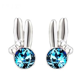 Dealtz Fashion Elements Blue Stone Earrings
