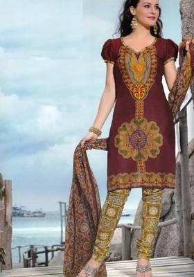 Dress material cotton designer prints unstitched salwar kameez suit d.no PA10062