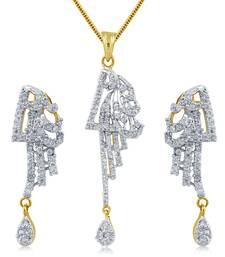 Buy Daily Wear American Diamond Pendant Pendant online