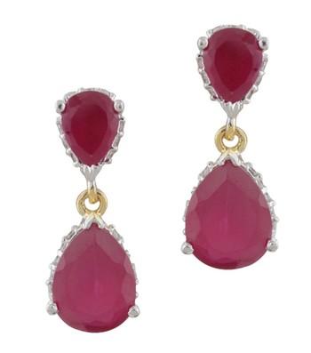 Pink & Red Bonanza Earrings 1