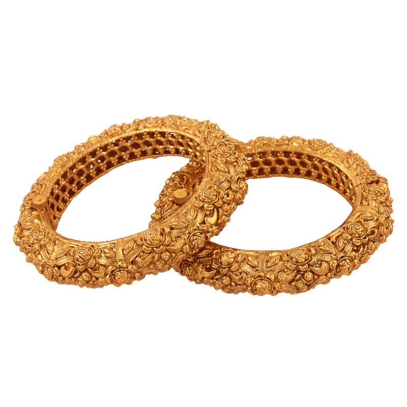 Buy Nice Gold Plated Antique Bangle Online