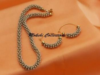 Cute Neck Chain Set